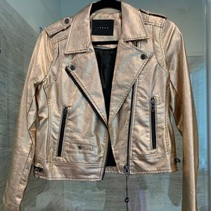 Rose Gold BLANK NYC Jacket